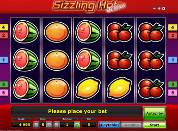 Sizzling Hot Deluxe Play